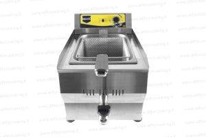 friggitrice elettrica con rubinetto
