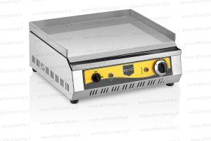 fry top elettrico acciaio